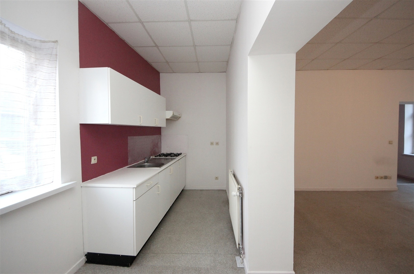 Lichtrijk 1-slaapkamer appartement in Gent-Centrum