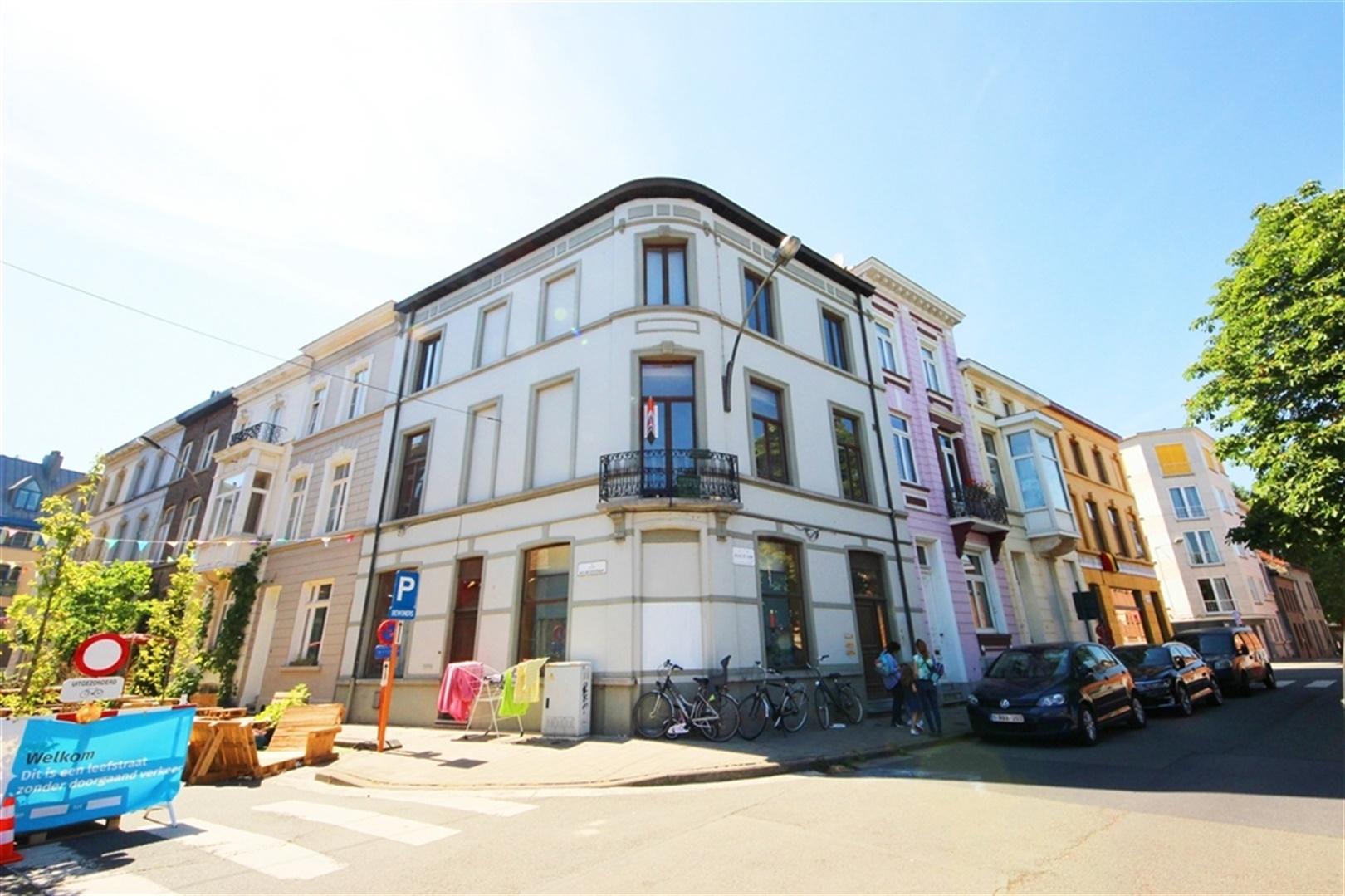 Opbrengsteigendom (4 appartementen) op top locatie in Gent