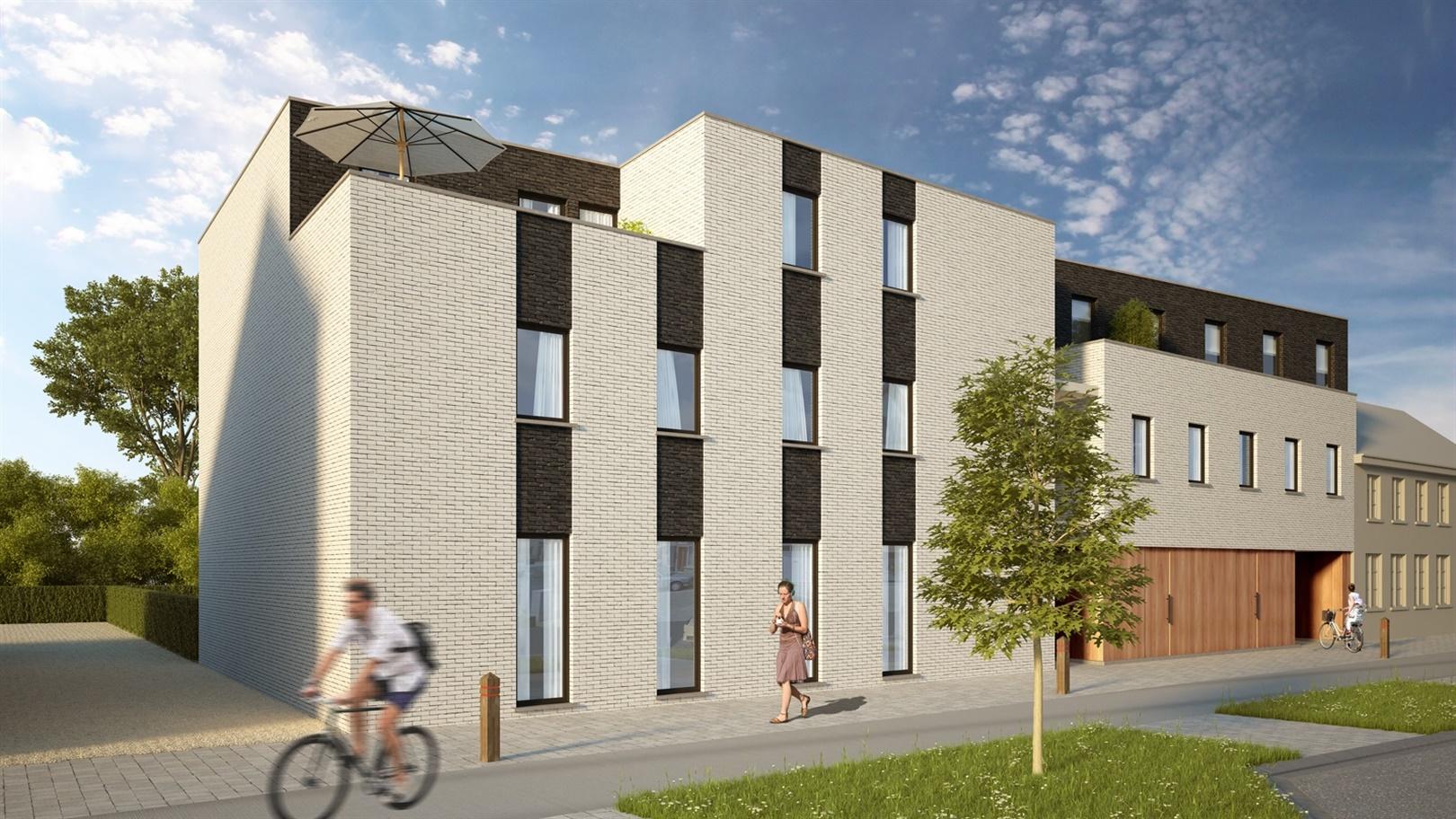 Nieuwbouwappartement met 2 slaapkamers en tuin