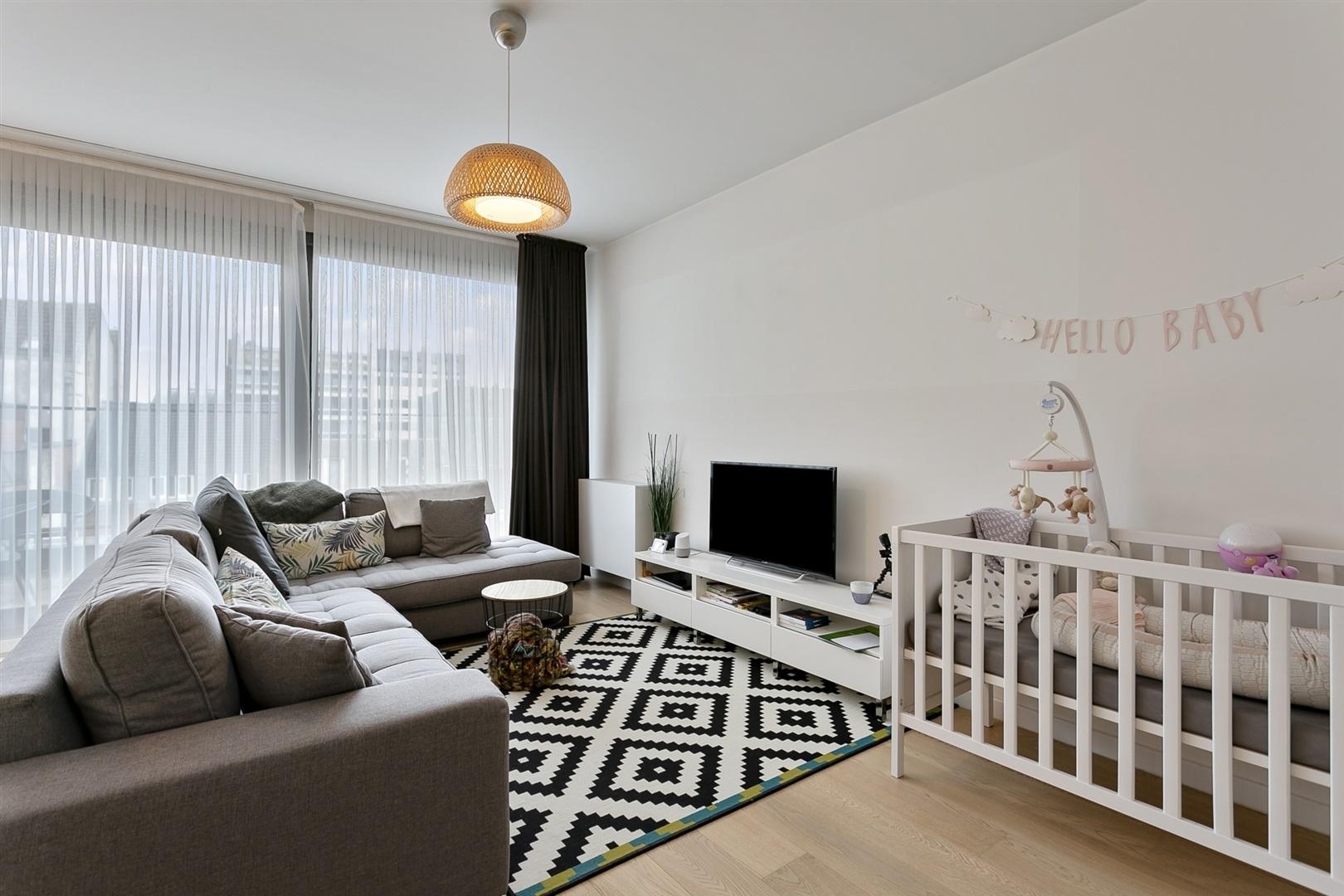 Modern appartement met 2 slaapkamers nabij Gent centrum