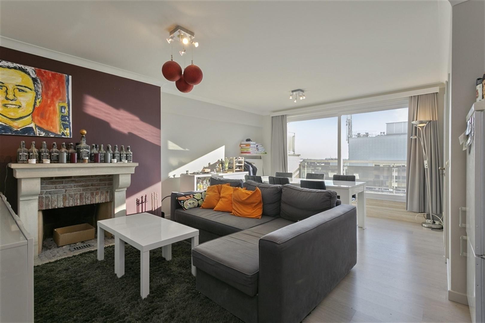 Appartement met 2 slaapkamers en zicht op de binnenstad!