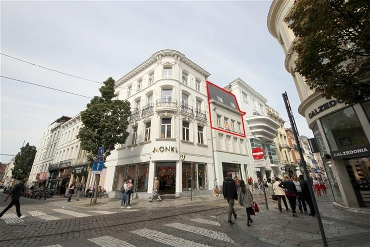 Ruim duplex-appartement op exclusieve locatie in Gent