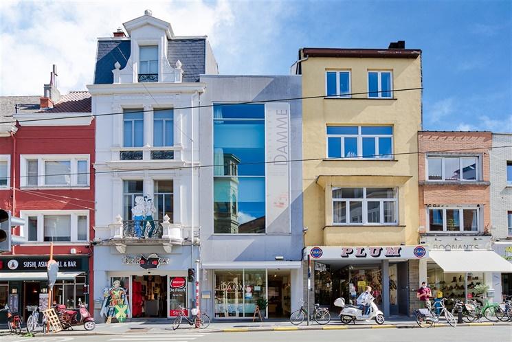 Handelszaak met woonentiteit op een centrale ligging in Gent