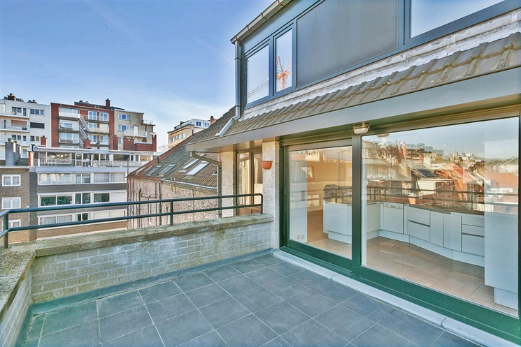 Aangenaam duplex-appartement met 2 terrassen in centrum Gent!