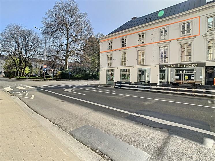 Ruim appartement met zicht op het Sint-Annapark te Gent