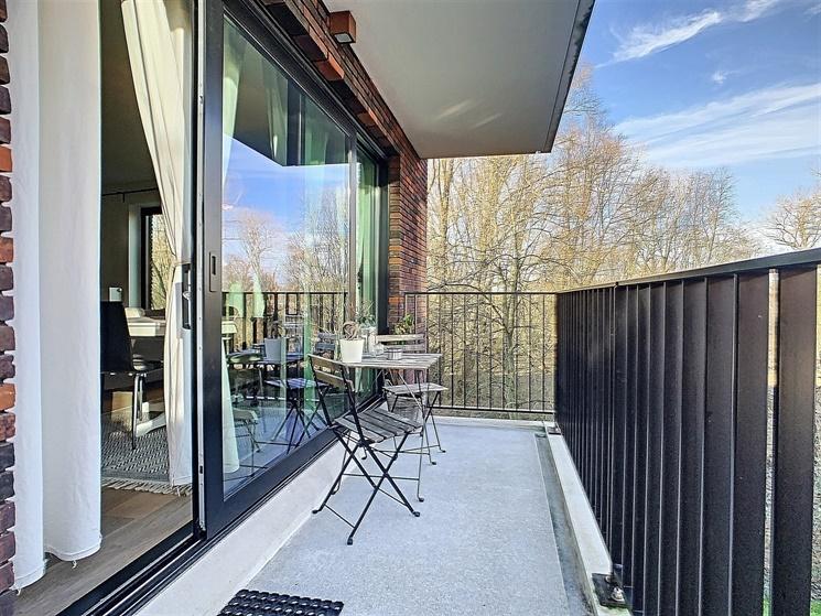 Nieuwbouwappartement met autostaanplaats op een boogscheut van Gent