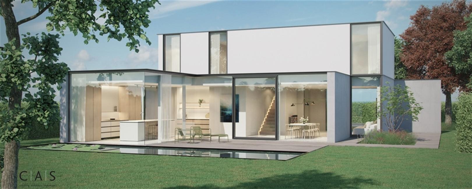 Exclusieve nieuwbouwvilla in residentiële buurt te Drongen