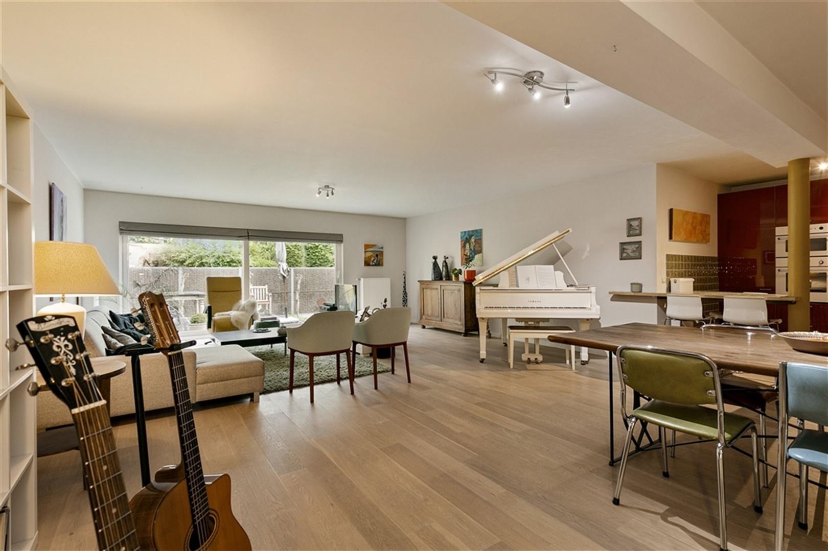 Gelijkvloers appartement van 149 m² met privétuin in Gent