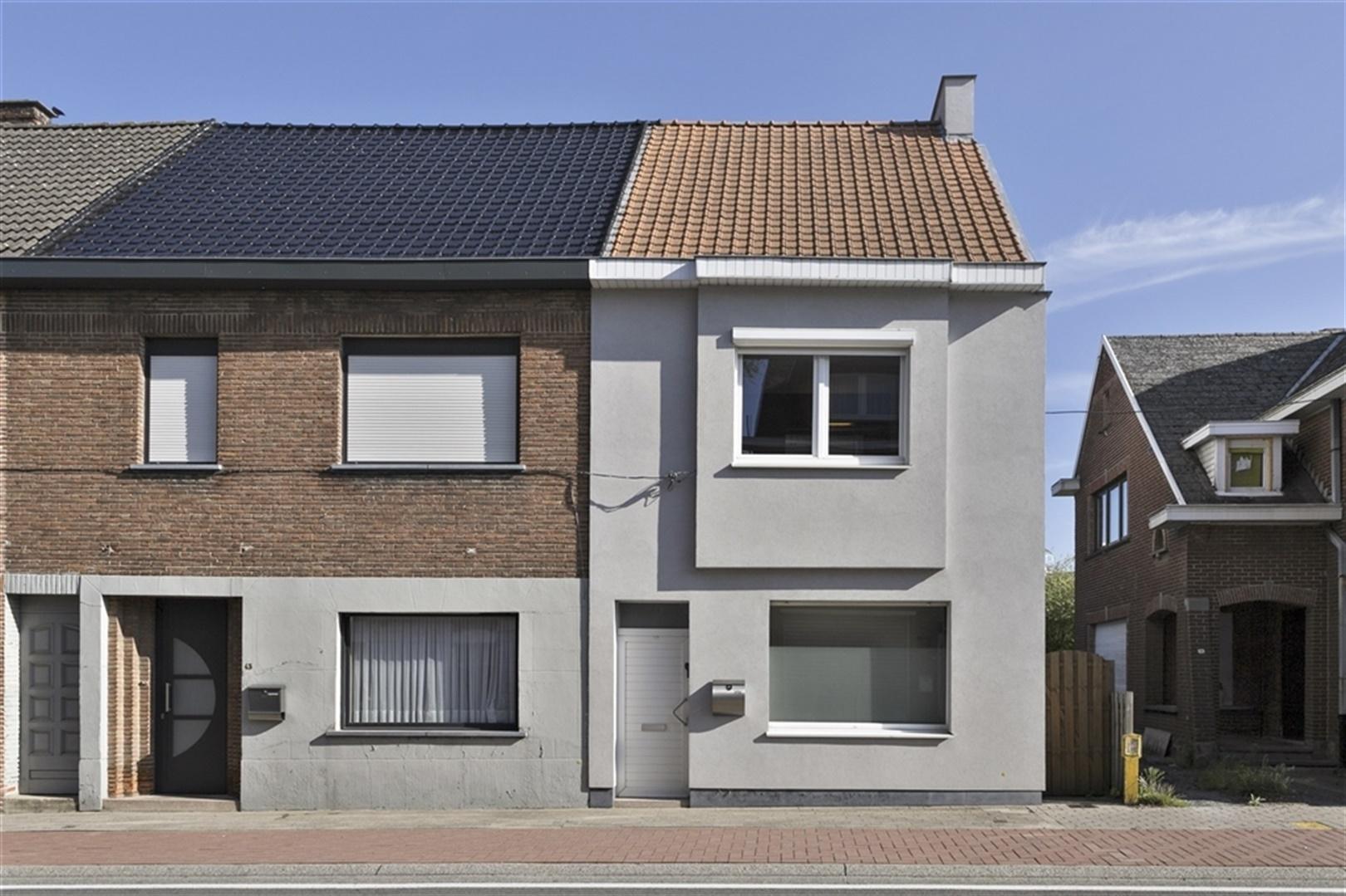 Stijlvolle en moderne woning met stadstuin in Wichelen