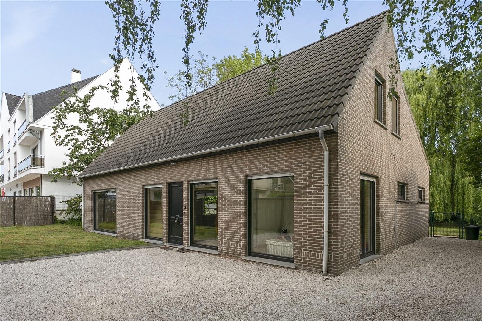 Alleenstaande woning met ruime tuin nabij Gent centrum