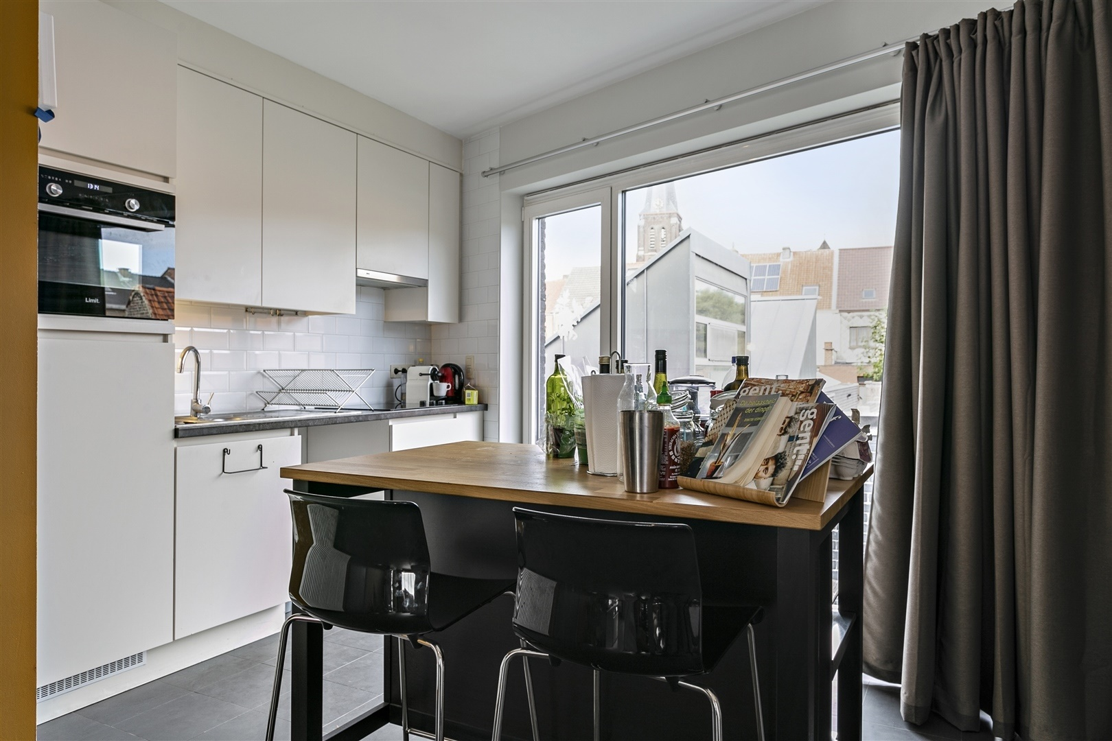 Recent en instapklaar appartement met stadstuin nabij Gent
