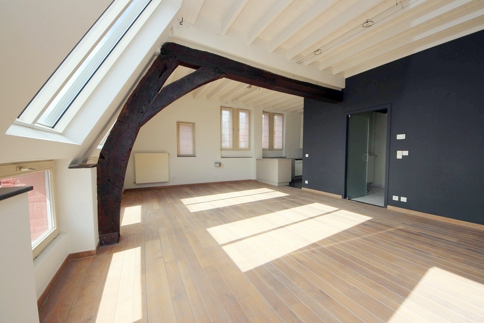 Charmant duplex-appartement in hartje Gent