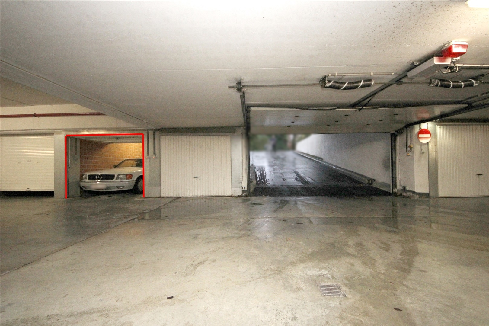 Ondergrondse garagebox aan station Gent-Sint-Pieters