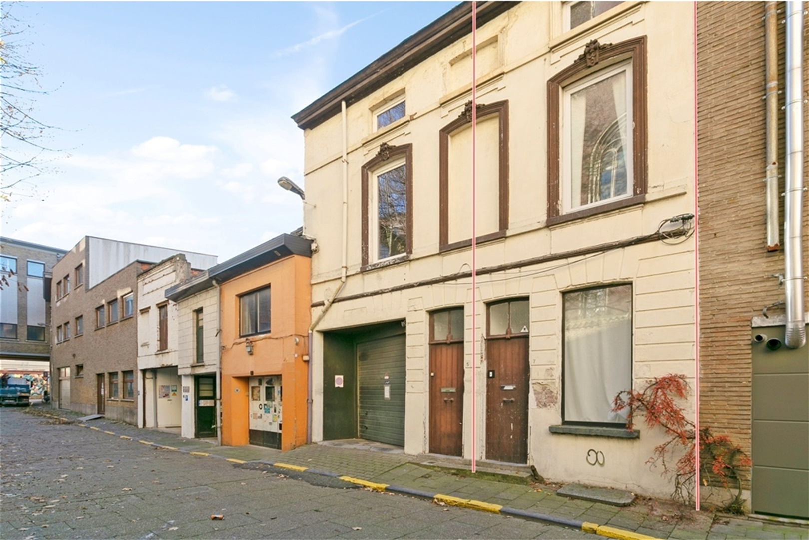 Karaktervolle authentieke steegwoning in hartje van Gent!
