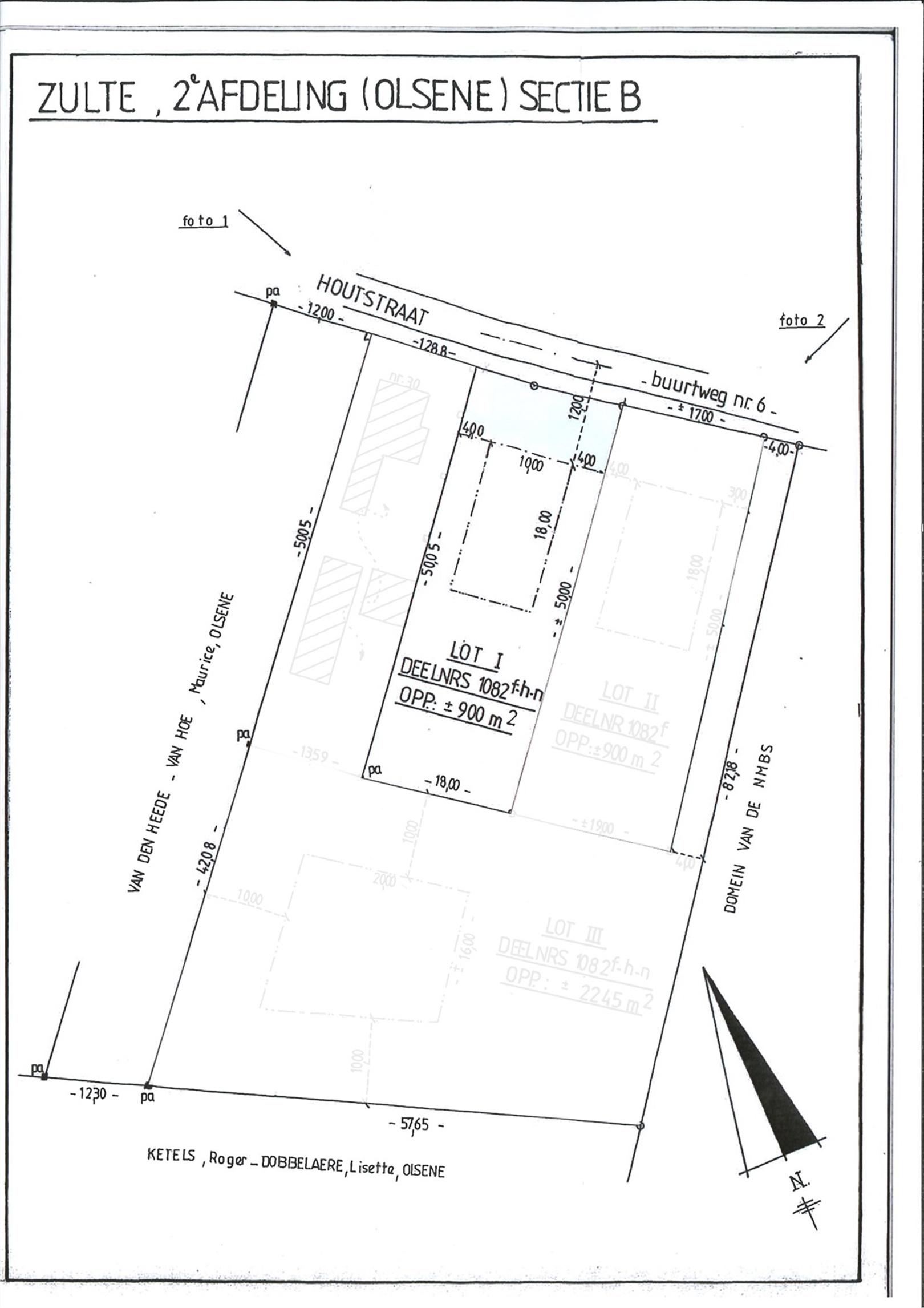 Goed georiënteerde bouwgrond voor open bebouwing in Zulte