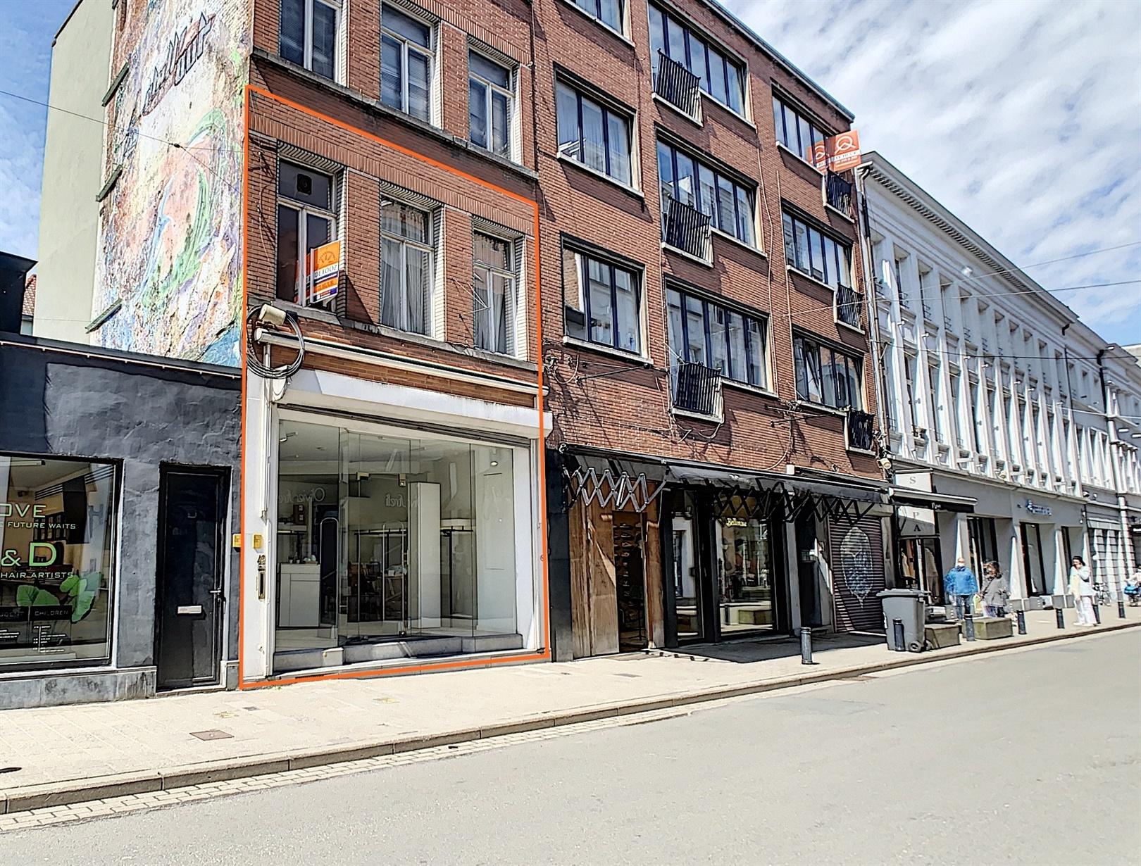 Handelspand op toplocatie in Gent