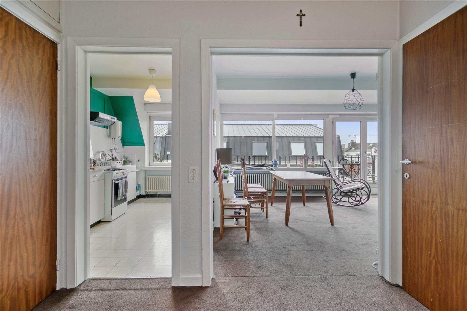 Penthouse met 2 terrassen & 2 slaapkamers