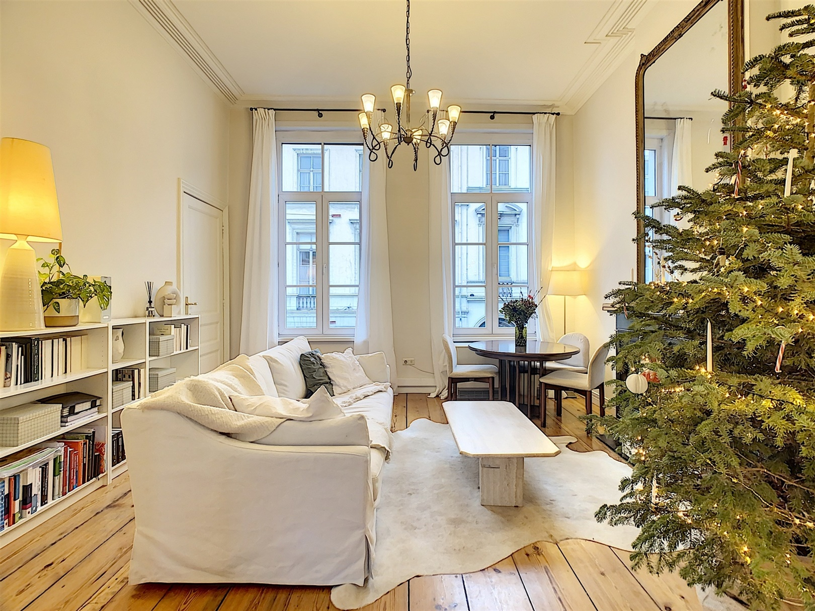 Charmant appartement in herenwoning