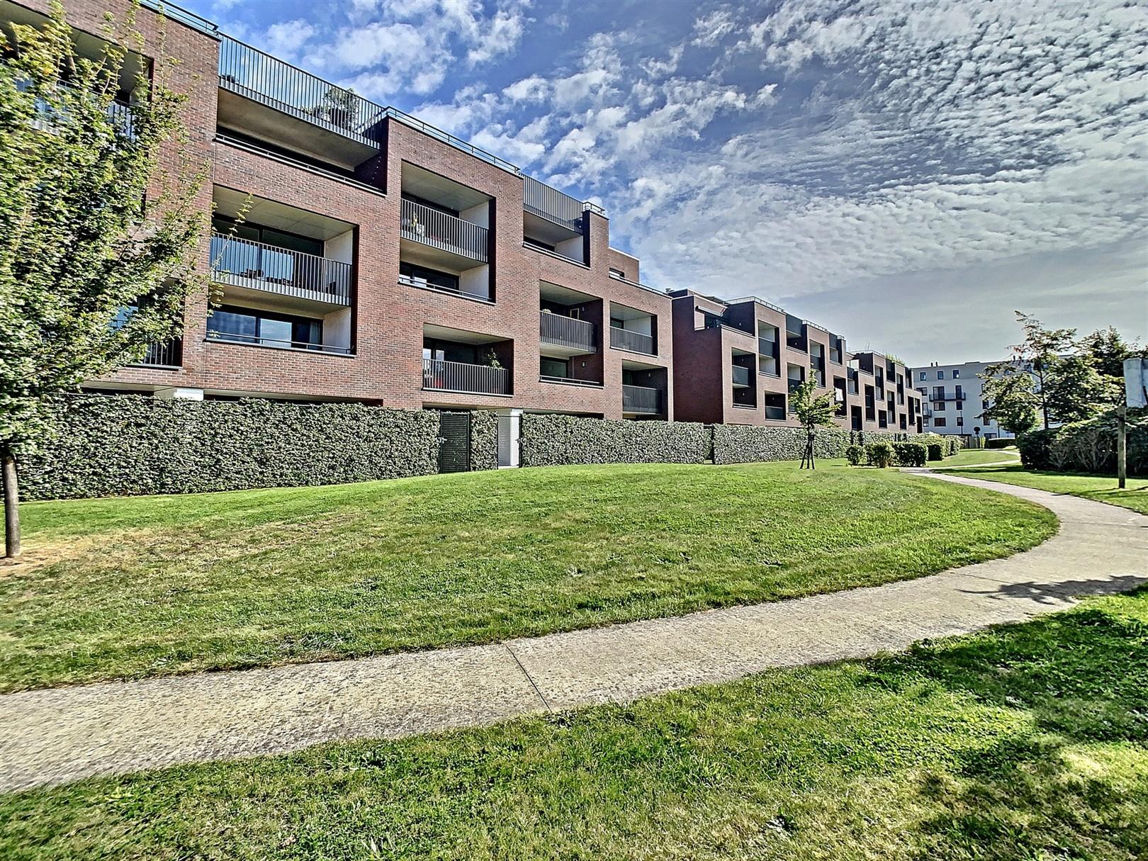Modern appartement met terras en zicht op het park!